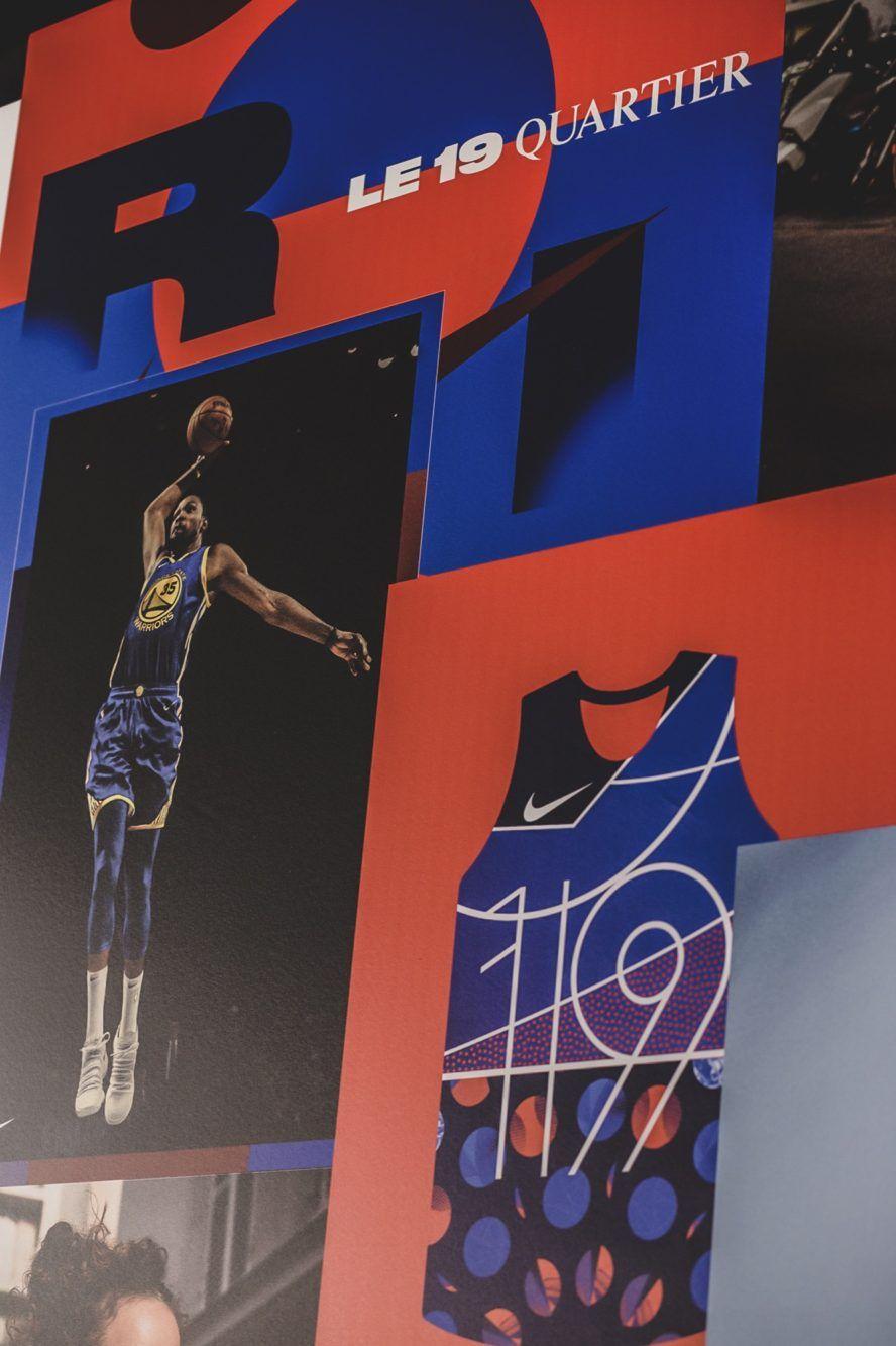 Nike Basketball x Le Quartier, Paris. - Visionarism