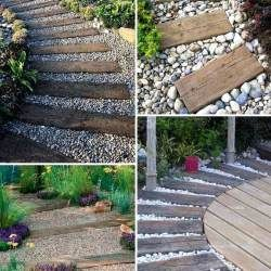 How To Lay Stepping Stones On A Slope