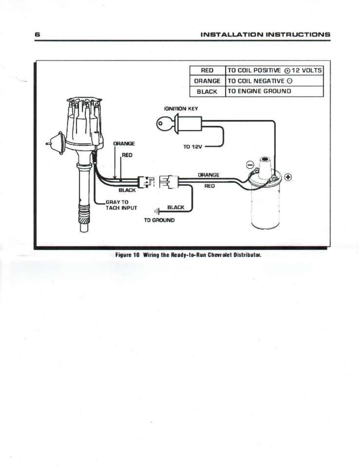 basic hot rod engine hei wiring diagram and ford distributor