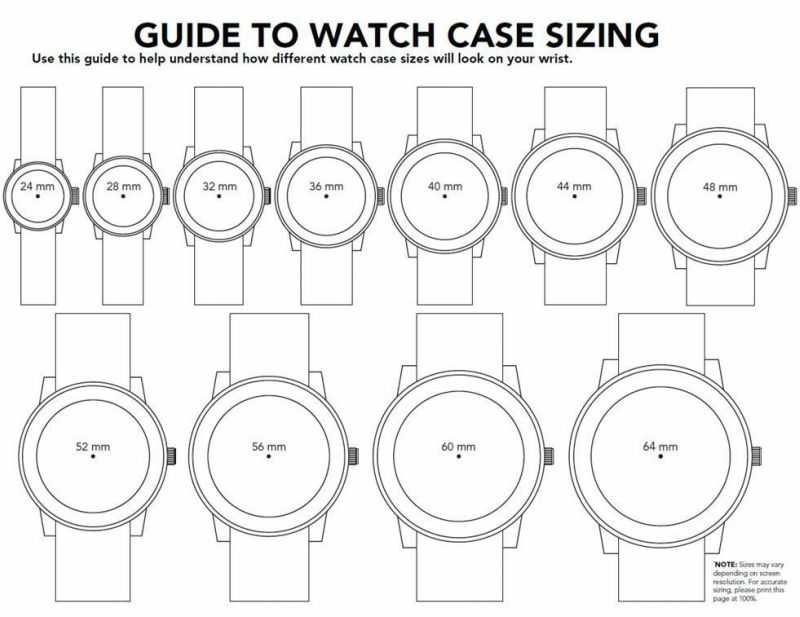 Men watch size guide also how to find  fit small wrist understanding rh pinterest