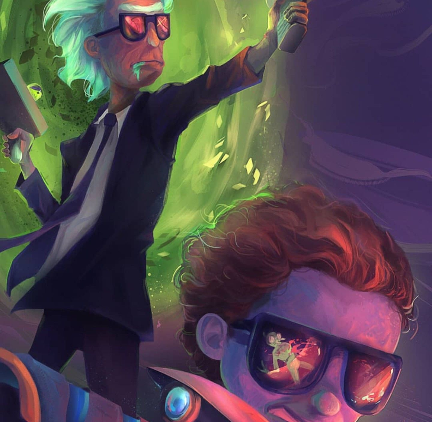 Rick And Morty X Run The Jewels Rick And Morty Morty Rick