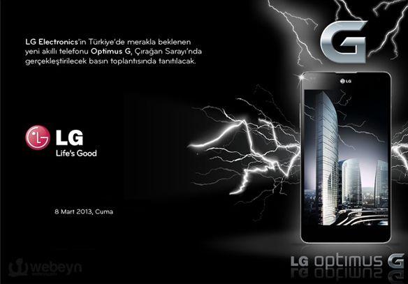 LG Optimus Gnin Türkiye Tanıtımı Yapılacak