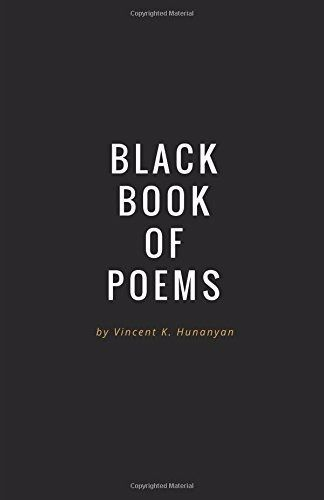 Black Book Of Poems New Paperback By Vincent Hunanyan Wise