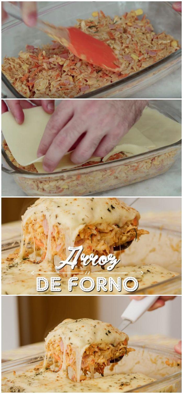 Arroz De Forno Com Frango E Milho Receita Arroz De Forno