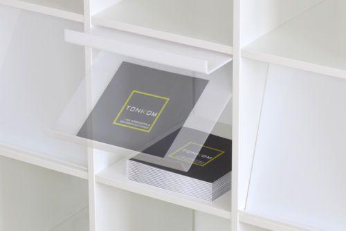 2er-Set Prospektklappe für IKEA Kallax / Expedit Regal weiß | Ikea ...