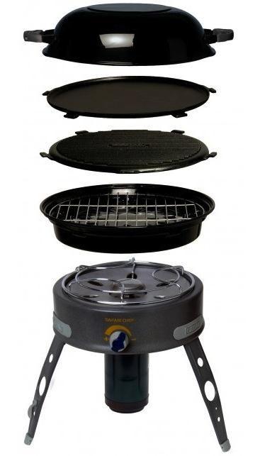 Cadac Safari Chef 4 In 1 Bbq Portable Barbecue