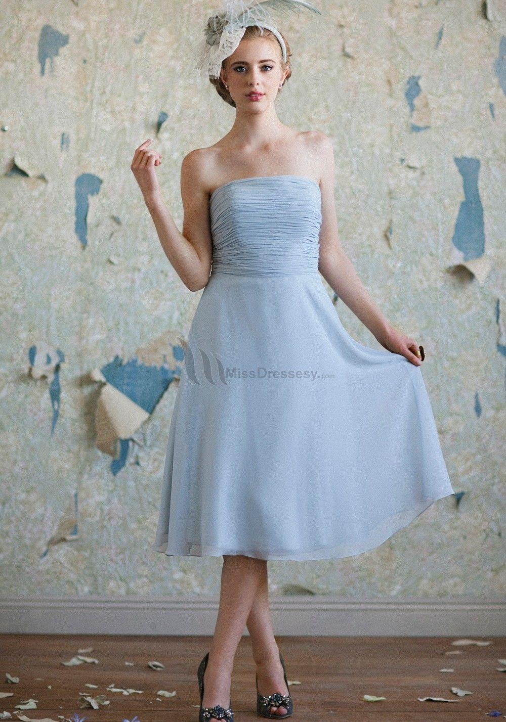 Buy Cheap fashion Chiffon Sash Ruched Bridesmaid Dresses - Elegant ...