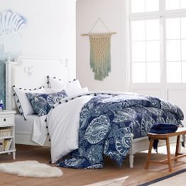 Luna Paisley Tencel Duvet Sham Home Decor Room