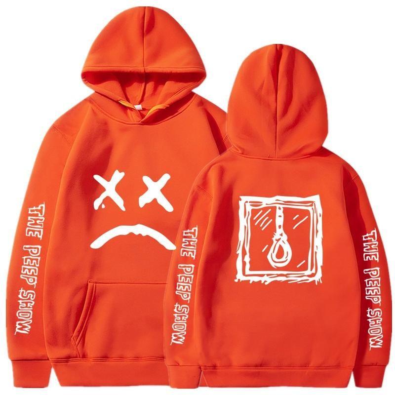 NEW Men/'s Lil Peep Street Hooded Round Neck Pullover Hoodies Hooded Sweatshirt