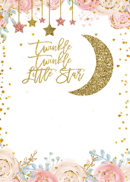 Twinkle Twinkle Little Star Round Sticker Zazzle Com In 2021 Twinkle Twinkle Little Star Twinkle Twinkle Baby Shower Little Star