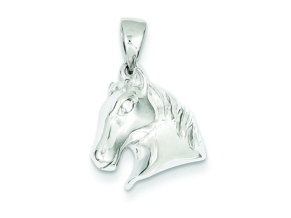 Sterling silver horse pendant necklace chain included jewelry sterling silver horse pendant necklace chain included aloadofball Gallery