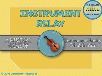 Instrument relay- placing instruments in their correct family
