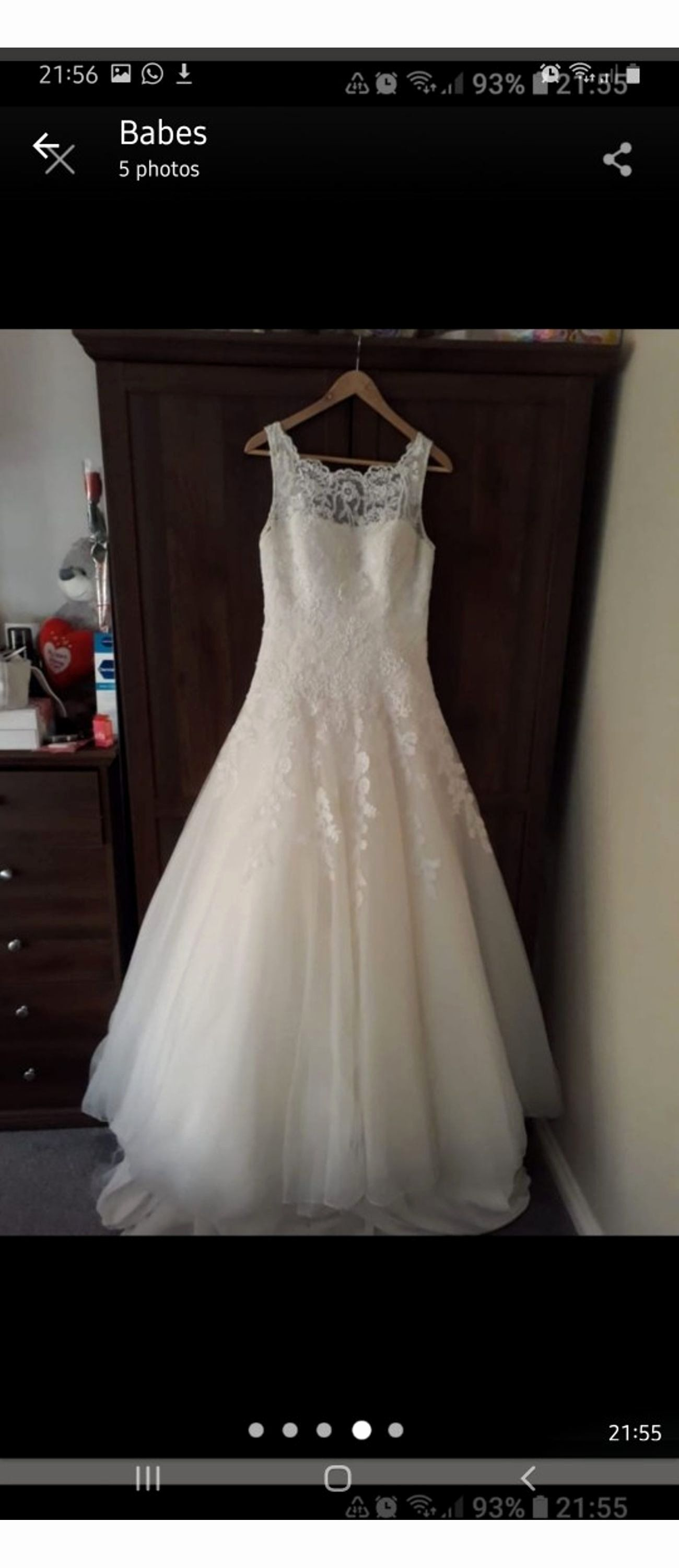 How Much Does It Cost To Dry Clean Wedding Dress Unique Justin Alexander Wedding Dress In Wolverhampton For 300 00 In 2020 Clean Wedding Dress Wedding Dresses Dresses