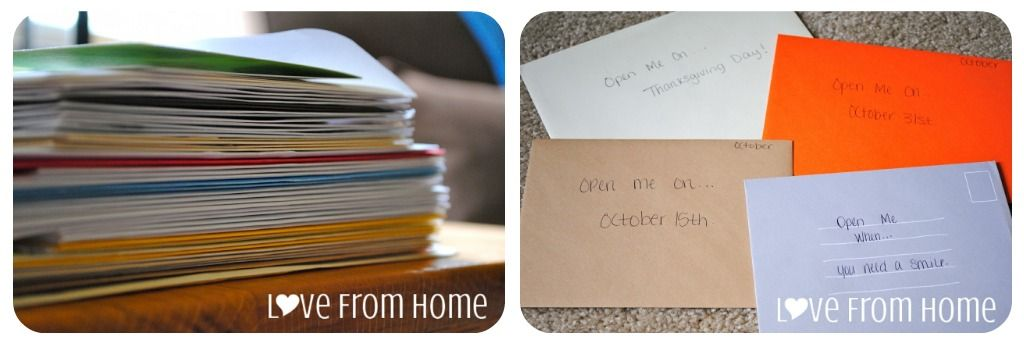 L♥ve From Home: Cards for certain reasons/days