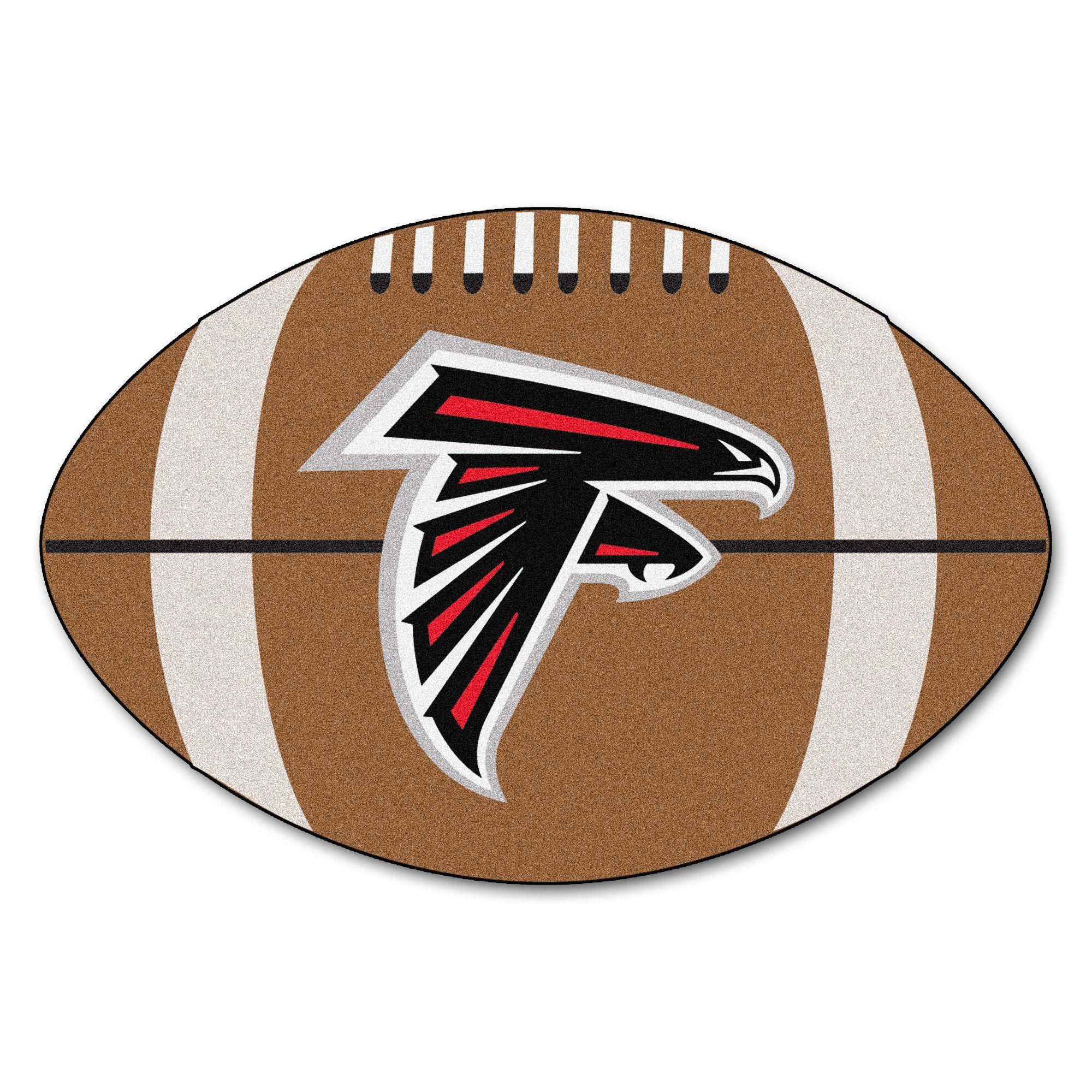 Football Rug 22 X 35 Atlanta Falcons Atlanta Falcons Football Falcons Football Football Rug