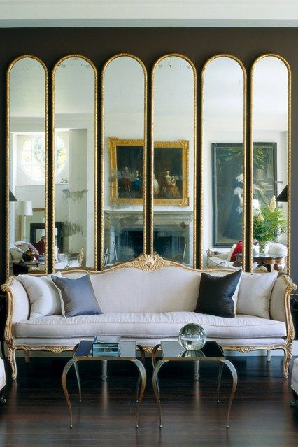 large decorative mirrors for living room wallpaper ideas feature wall india how to decorate with dark colours lovely pinterest give the illusion of space reflect light add glamour best mirror decorating on house design food and travel by garden