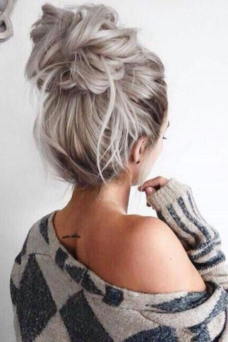 Super Easy Ways To Get The Perfect Messy Bun - Hair Styles