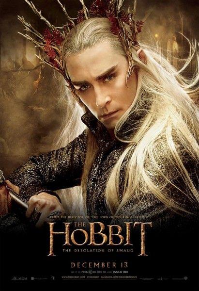 Pósters De Personajes De El Hobbit La Desolación De Smaug Cines Com La Desolación De Smaug Hobbit Thranduil