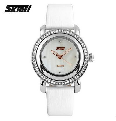 Women Rhinestone Watches Luxury SKMEI Brand Fashion Ladies Dress Quartz Watch Hour Clock Women Waterproof Wrist watch - Online Shopping for Watches
