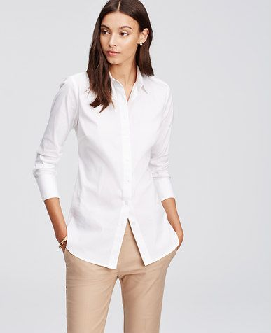 Image of Perfect Shirt Ann Taylor $49.50 | Business Woman ...