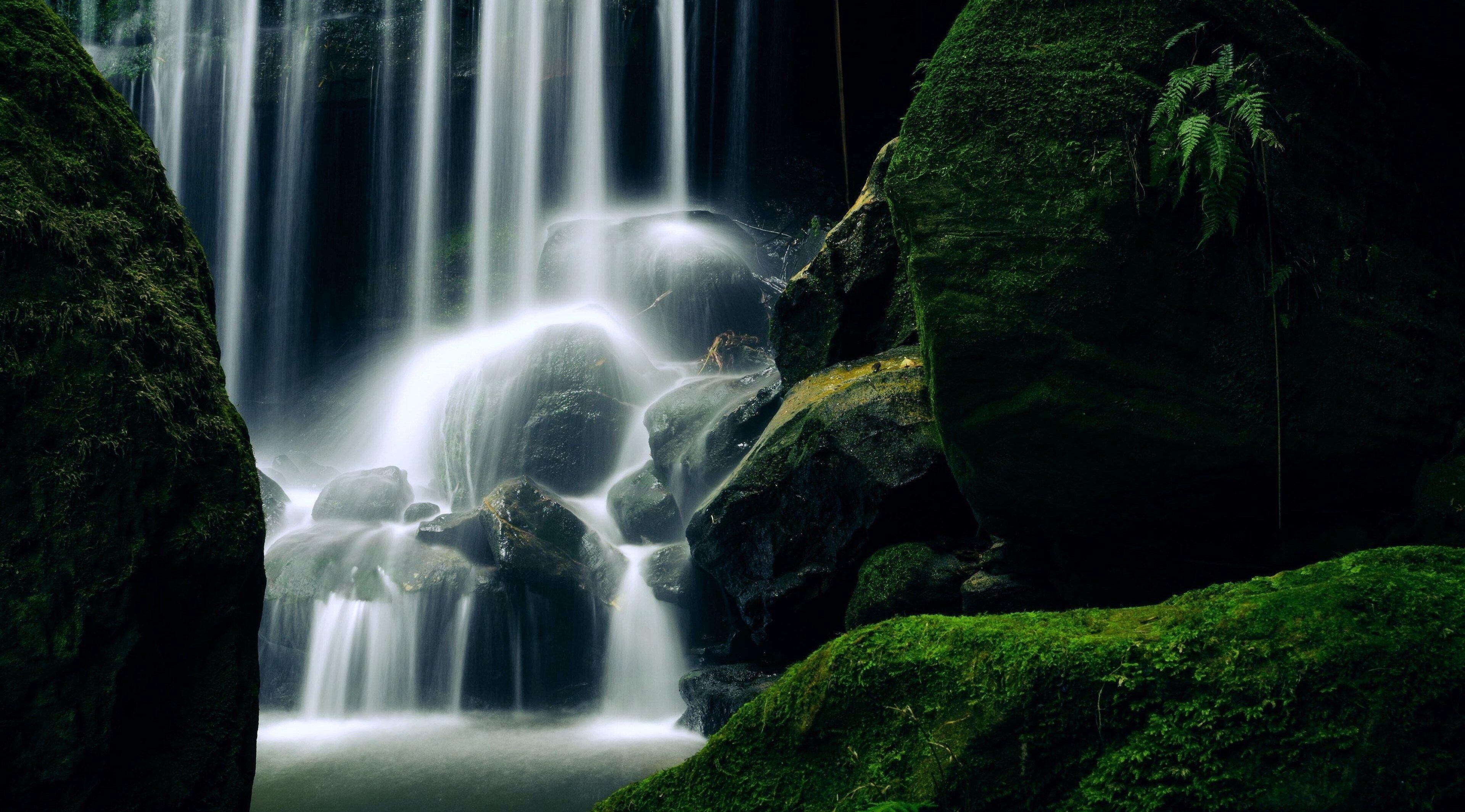 3840x2130 Waterfall 4k Best Computer Wallpaper Waterfall Wallpaper Waterfall Travel And Tourism