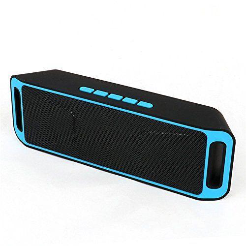 Sylvania SP015-Purple Bluetooth Speaker with Built-in Speakerphone