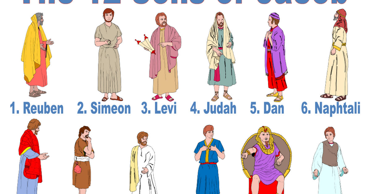 What are the names of the 12 tribes of israel