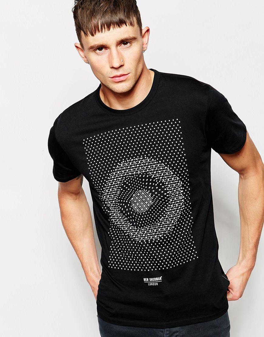 95398ead4 Imagen 1 de Camiseta con estampado ded lunares Target de Ben Sherman
