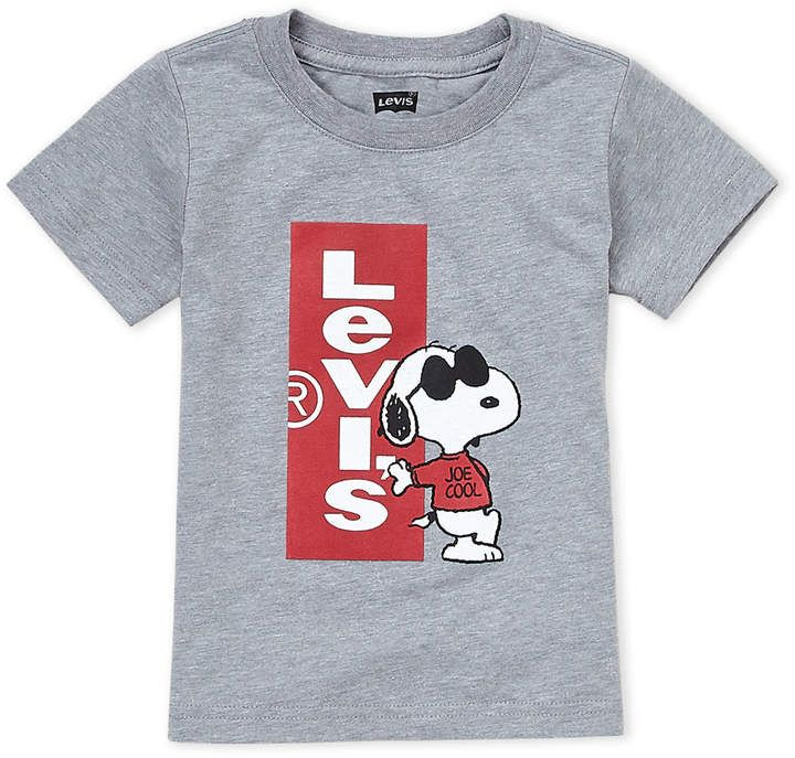 44303098c9eb8 Levi's Toddler Boys) Snoopy Logo Tee | Products in 2019 | Toddler ...