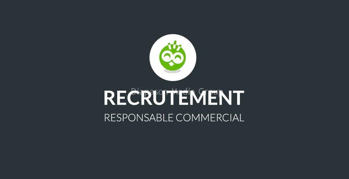 Responsable Commercial Chef De Vente Tech Company Logos Commercial Company Logo
