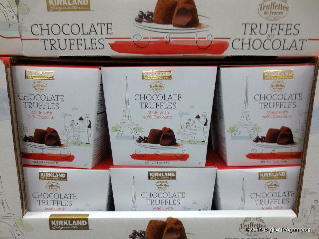 Chocolate Truffles 70% (Kirkland Signature brand from Costco ...