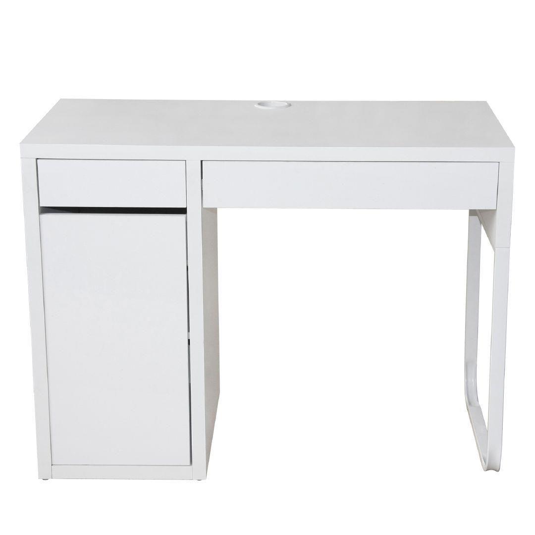 Workspace Moda II Desk White  Desk, White desks, Cupboard storage