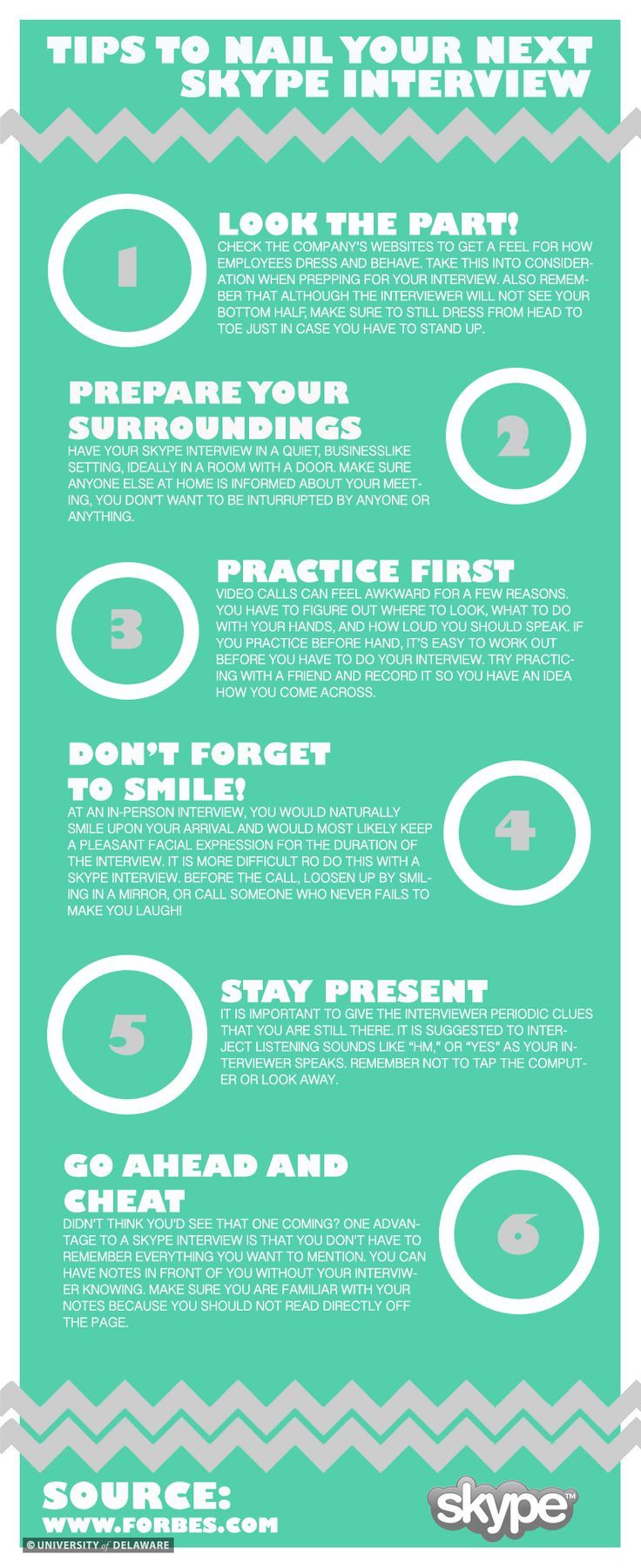 How to calm job interview nerves infographic skype
