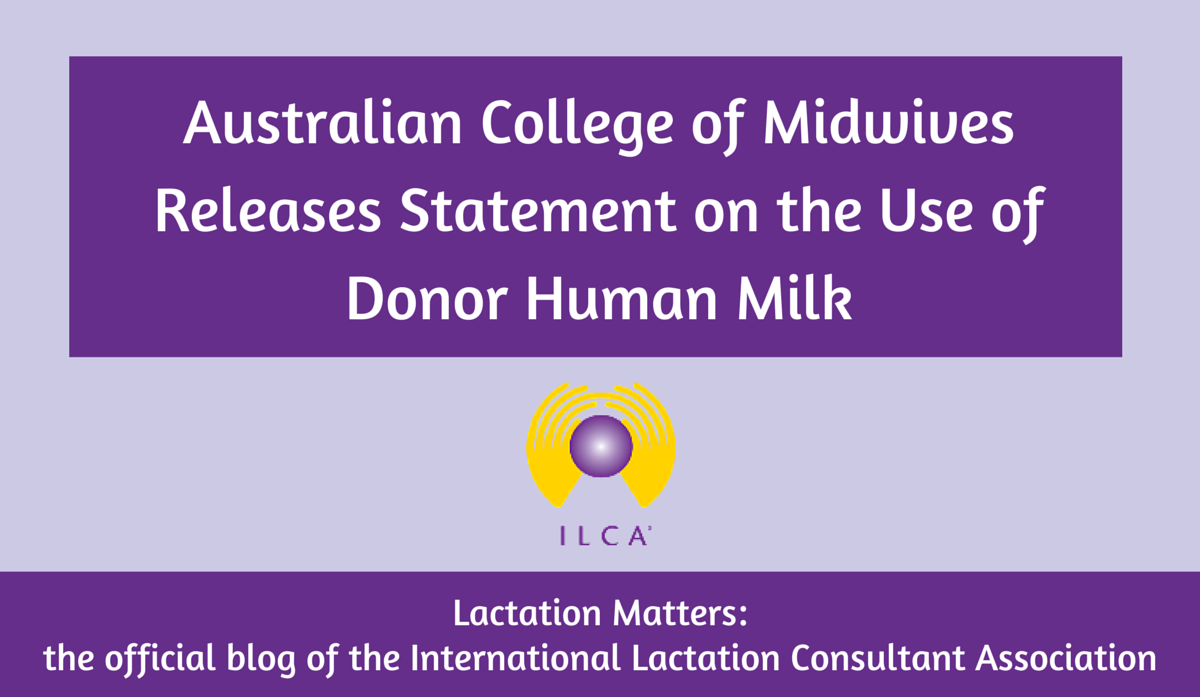 Australian College of Midwives Releases Statement on the