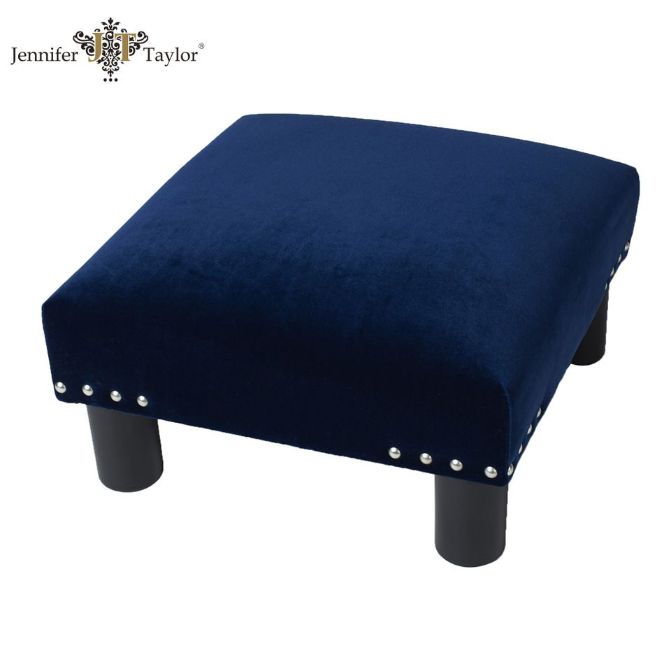 small ottoman stool. Livingroom Furniture Velvet Fabric Armchair Set Small Ottoman/shoe Changing Stool Ottoman T