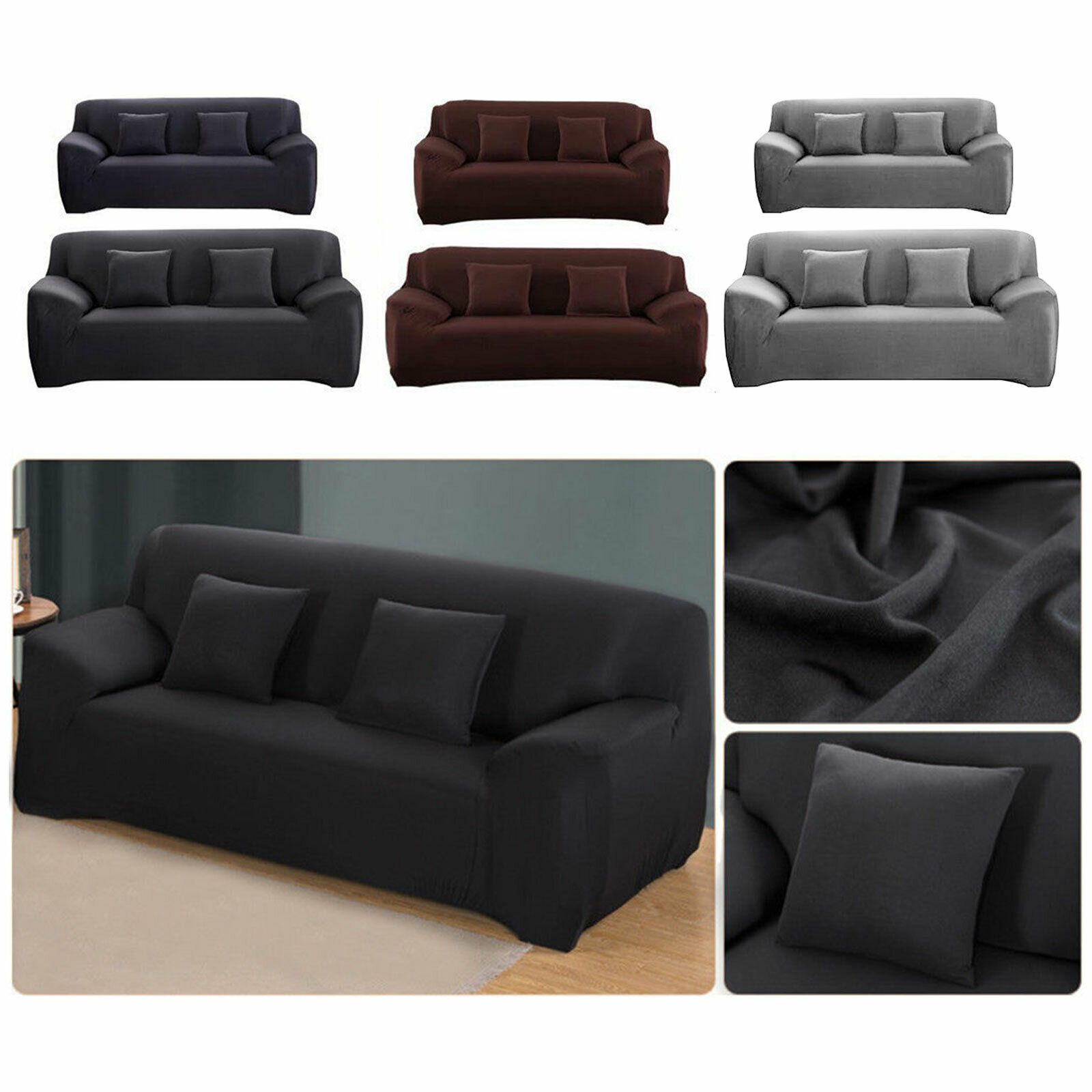 2/3 Seat Sofa Cover Couch Loveseat Slipcover Pet Dog Mat ...