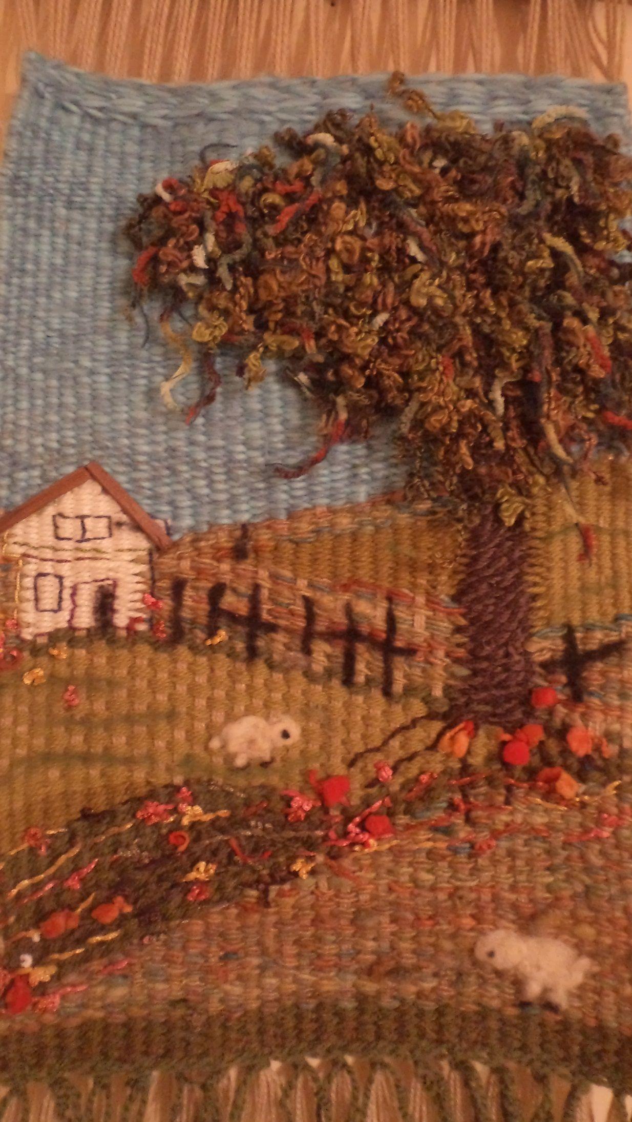 Telar decorativo - pin from Cecilia Marchant