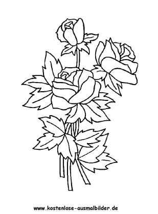 Pin On Ausmalbilder Blumen
