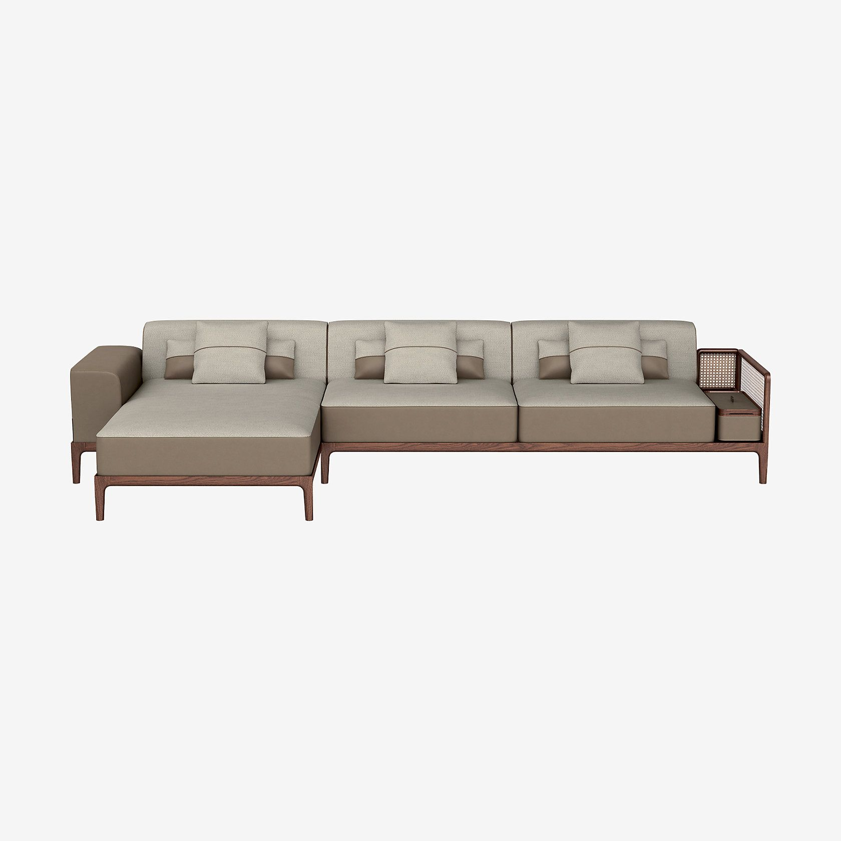 Sofa Sellier 2 Seater With Chaise Lounge In 2020 Sofa Sofa Design Chaise Lounge