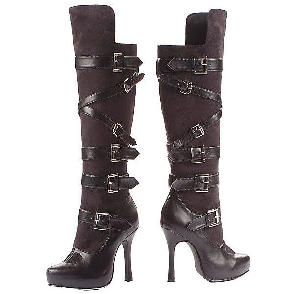 Prestige Bandit Boot Adult (€70) ❤ liked on Polyvore featuring costumes, shoes, boots, halloween costumes, multicolor, sexy adult costumes, sexy adult halloween costumes, leg avenue costumes, colorful costumes and adult costume