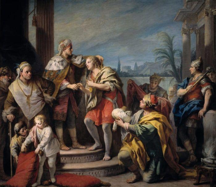 Итальянский художник Якопо Амигони (1675 – 1752 ...