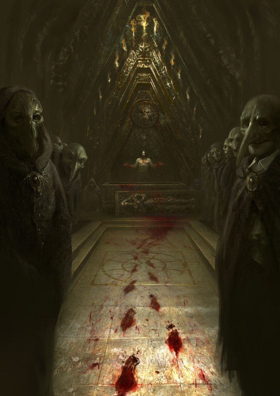 31 Scary Paintings Ideas Dark Art Scary Horror Art
