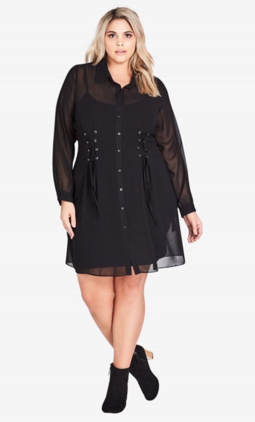 69608d898f8 Amazing 43 Stylish Plus Size Women Outfits for Winter Party  https   glamisse.