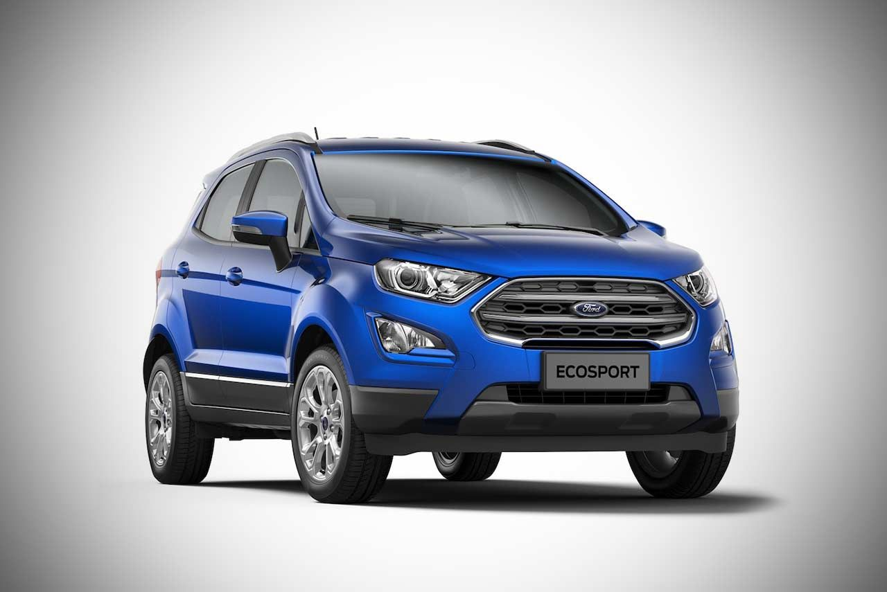 The New Ford Ecosport For India Has Been Unveiled In A Unique Unboxing Event Which Was Carried Out By By Siddharth Vinayak Patankar And Mallika Dua Ford India