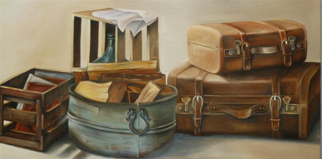 Mis cosas. Artista: Elena Isla Casares