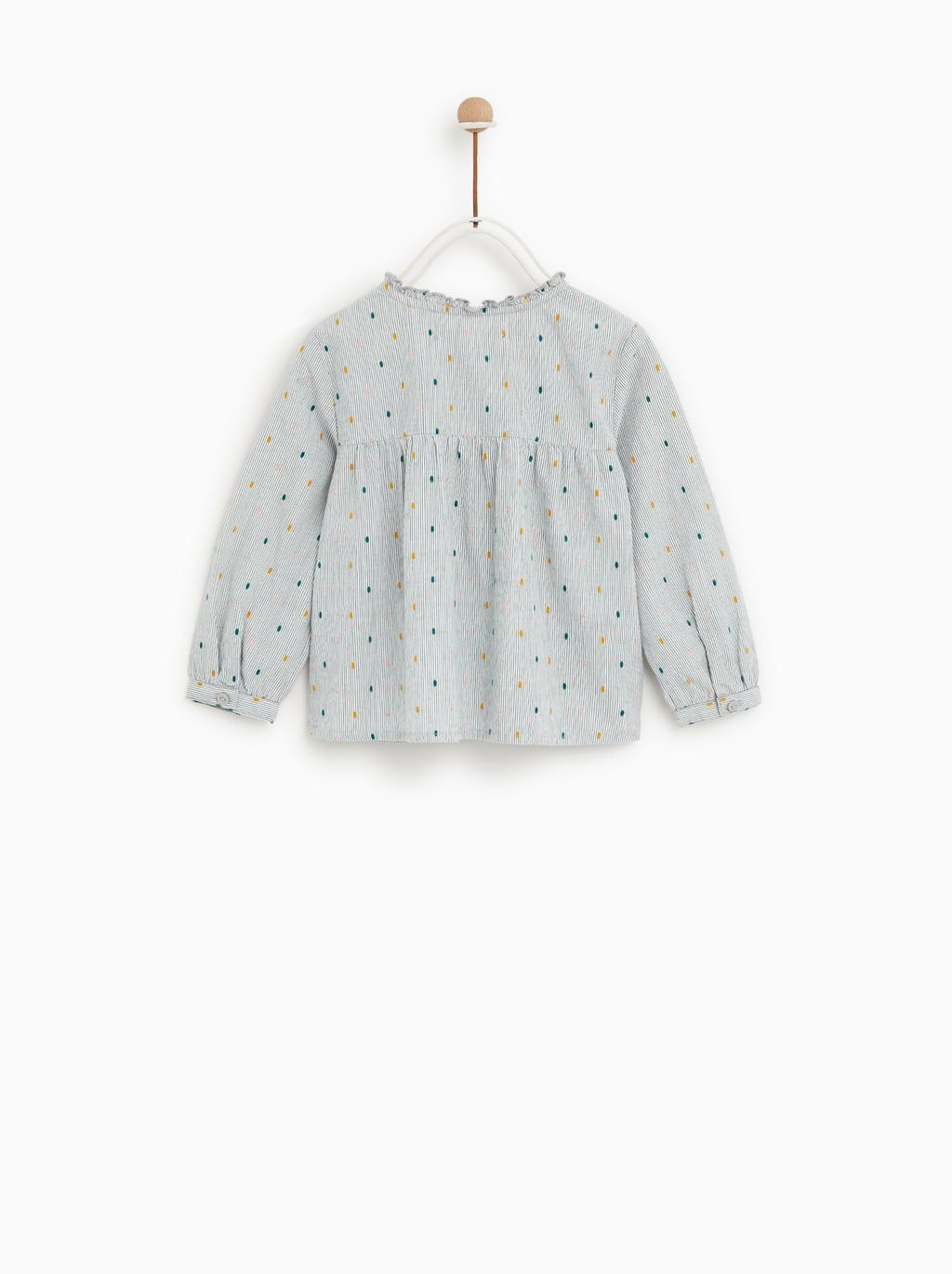 Image 5 Of Frilled Shirt From Zara Fashionable Baby Clothes Kids Outfits Kids Fashion