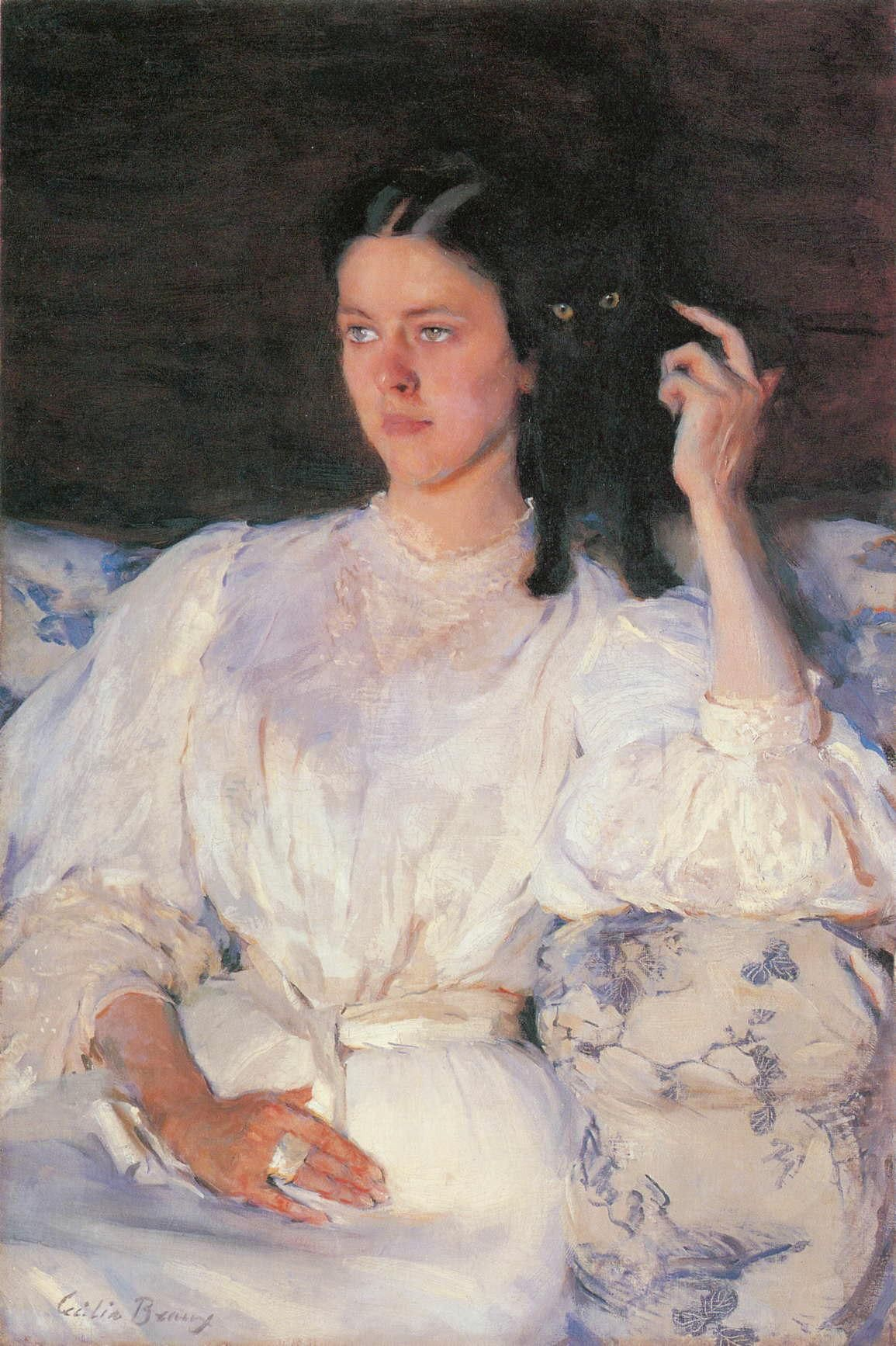 By Cecilia Beaux Sita and Sarita