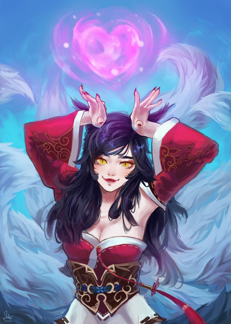 Ahri by Ryrua.deviantart.com on @DeviantArt - More at https://pinterest.com/supergirlsart League of Legends #leagueoflegends #lol #fanart