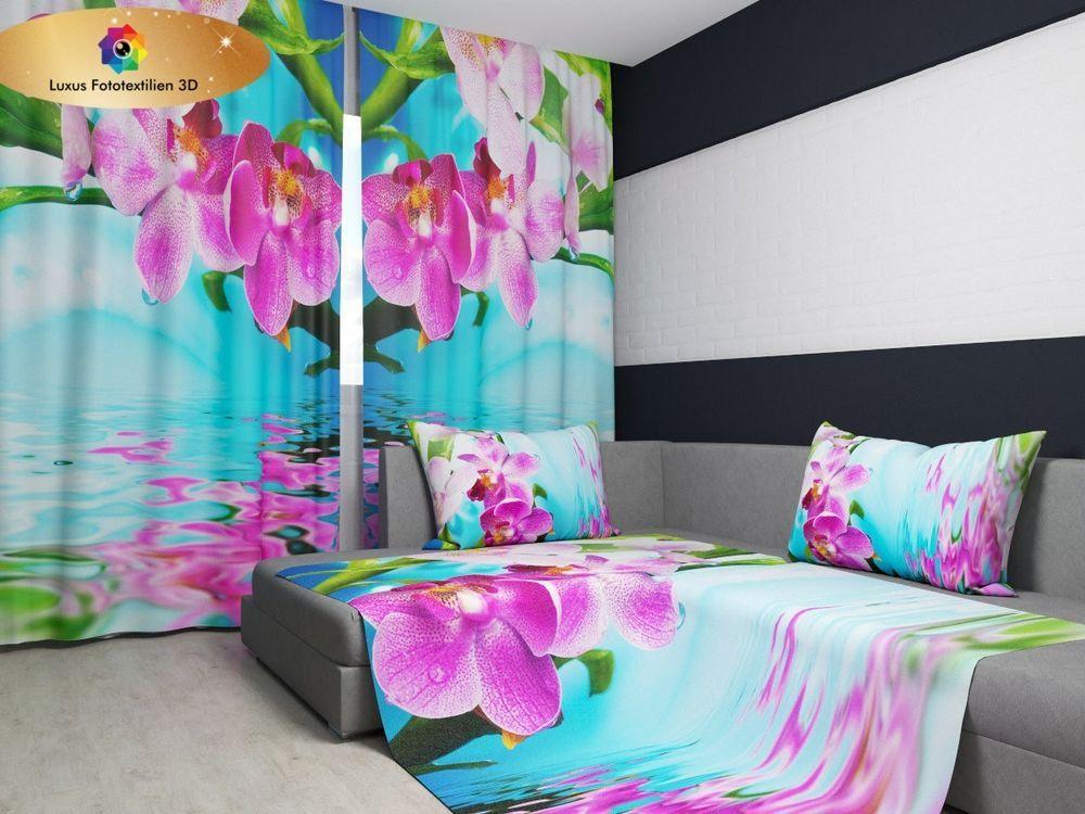 Fotogardine 3D bei Ebayde u20ac kaufen Europäische Produktion - schlafzimmer kaufen ebay