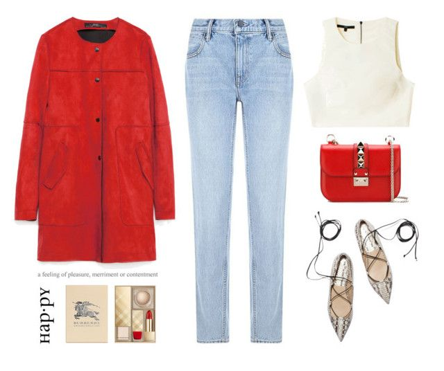 """""""..."""" by yexyka ❤ liked on Polyvore featuring Zara, Alexander Wang, Valentino, TIBI, ELSE, Burberry, women's clothing, women, female and woman"""